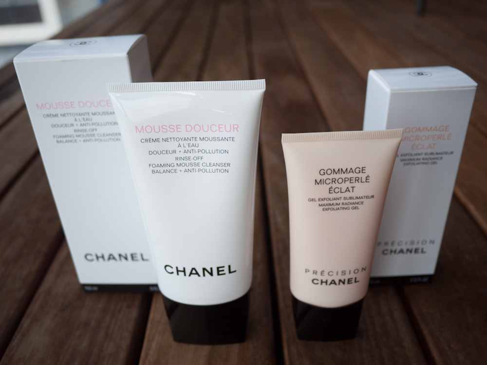 Chanel Maximum Radiance Exfoliating Gel & Chanel Foaming Mousse Cleanser