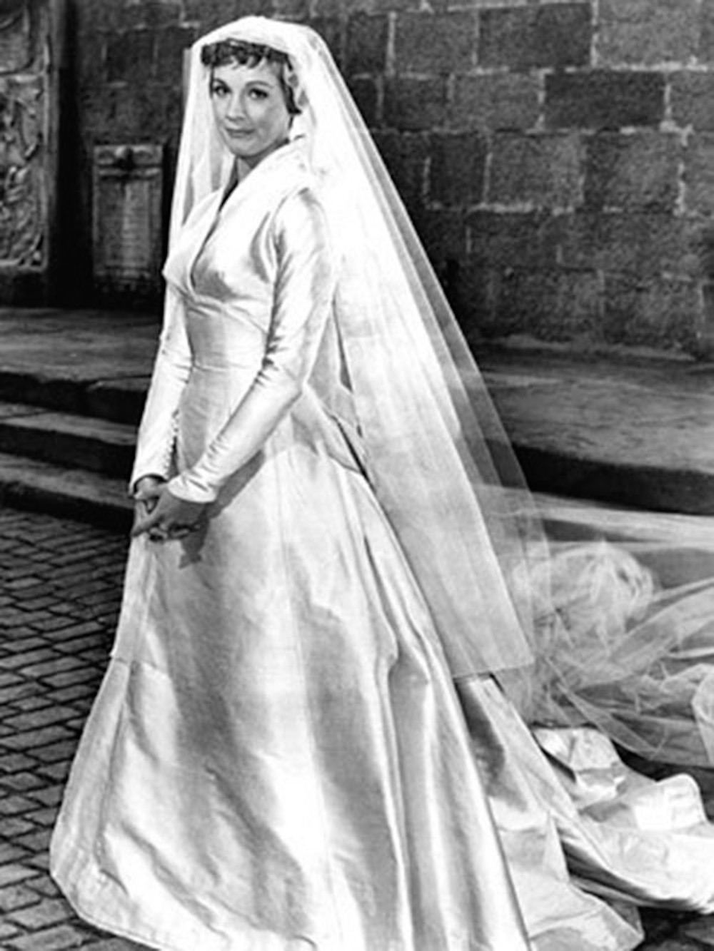 Maria Von Trapp Wedding Gown