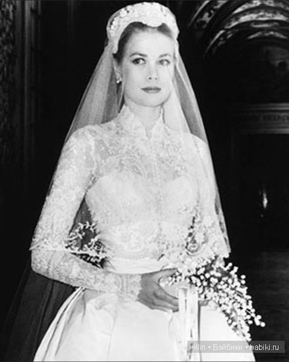 Grace Kelly Wedding Dress Carolina Herrera
