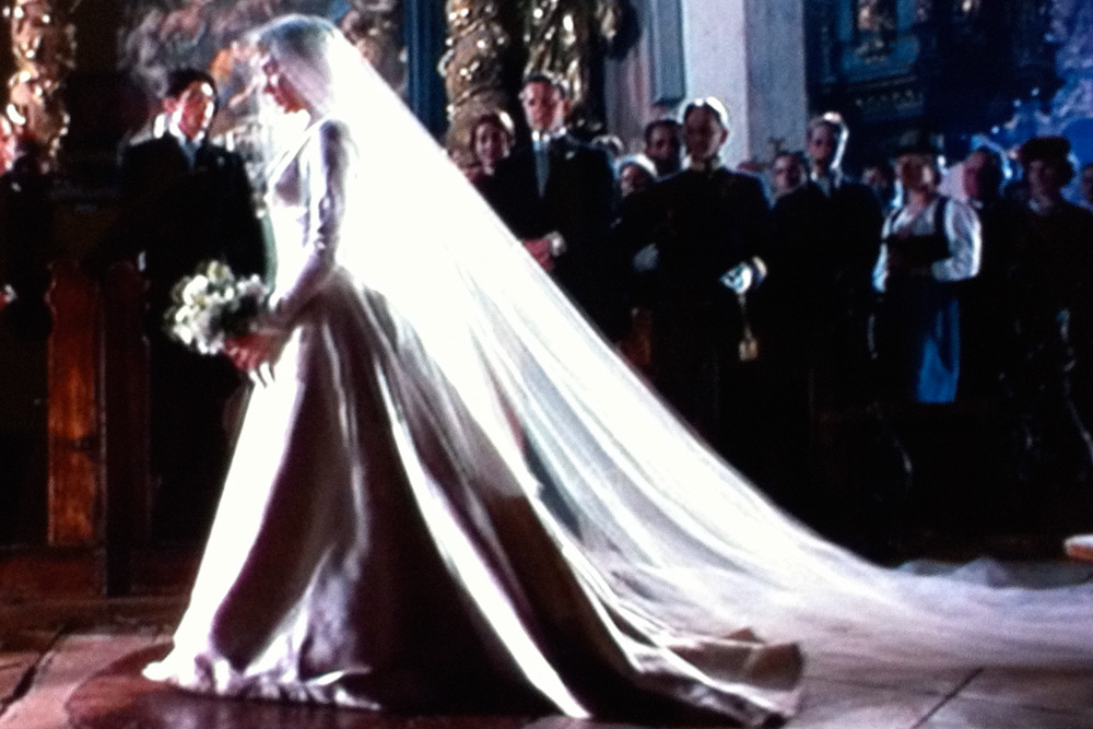 The Wedding Dress From Sound Of Music