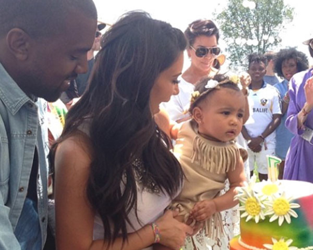 North's 1st Birthday
